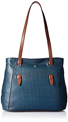 Hidesign Women's Handbag(MARAK MEL RAN M BLUE TAN)