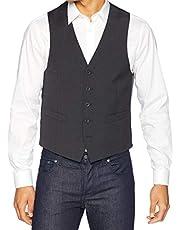 بدلة Kenneth Cole REACTION للرجال Techni-Cole Stretch Slim Fit منفصلة (سترة وبنطال، وصدرة)