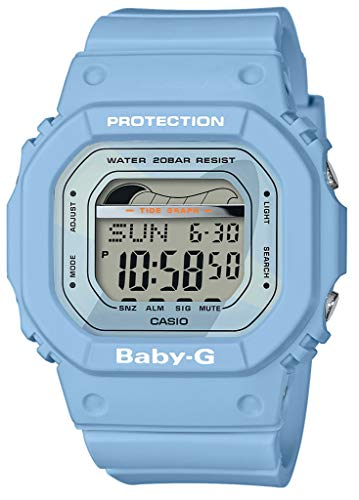 BABY-G Reloj Digital para Mujer de Cuarzo con Correa en Resina BLX-560-2ER,...