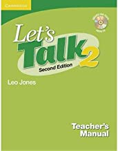 [ [ [ Let's Talk Teacher's Manual 2 with Audio CD[ LET'S TALK TEACHER'S MANUAL 2 WITH AUDIO CD ] By Jones, Leo ( Author )Jan-01-2008 Hardcover