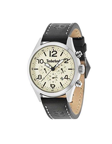 Timberland Reloj Multiesfera para Hombre de Cuarzo con Correa en Cuero 15249JS/07