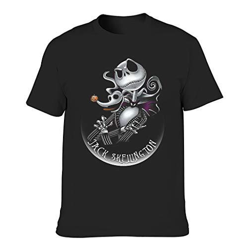 Ja-ck Unisex T-Shirt mit Rundhalsausschnitt Gr. XXL, Schwarz