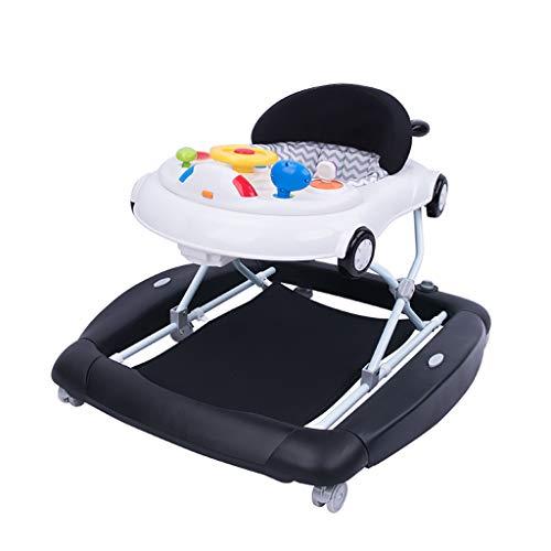 LFY Voiture à Cheval à Bascule Pliable Multifonctions Anti-Renversement pour bébé garçon ou Fille Trotteur