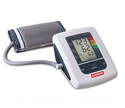 Tensiometro digital de brazo AARON® | arm, con tecnología de medición ascendente para una medición más precisa y fiable. Memoria de hasta 80 mediciones.