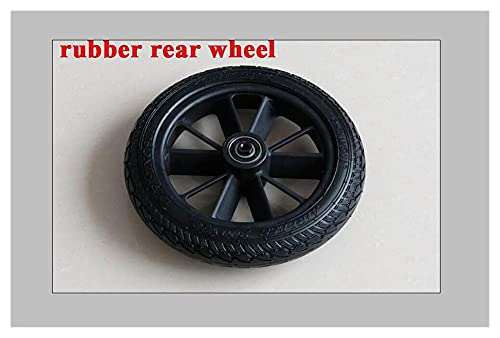 CML S2 Booster Electric Scooter Wheel Fit para Etwow Electric Scooter (Color : Rubber Rear Wheel)