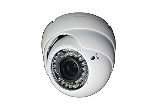 'DP 8051B + S, Dome Cámara 1/3Color SONY 960H CCD + avs03p DSP, 800TVL, 2,8–12mm, infrarrojos, menú OSD, de día/noche