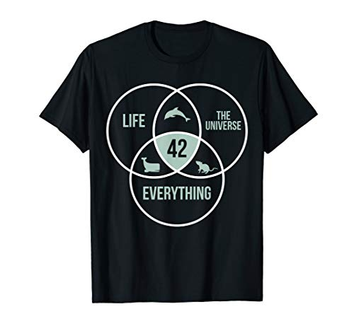 Life The Universe And Everything 42 Answer To Life T-Shirt
