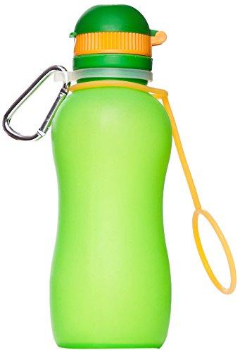 Zielonka Silikon Trinkflasche Viv Bottle 3.0, Grün, 300 ml, 59892