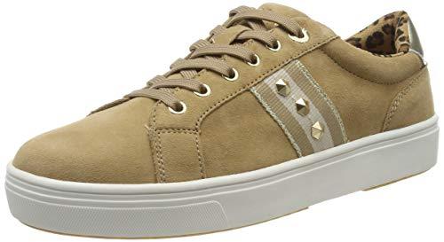 s.Oliver Damen 5-5-23602-23 Sneaker, Beige (Sand 355), 39 EU