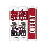 Neutrogena Lips Stick 2 + 1 Free