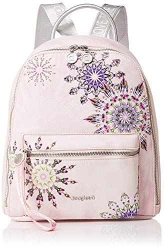 Desigual Backpack Luna Rock Nazca Mini 25.5 cm rosa palido