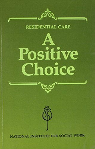 Residential Care: The Research Reviewed (Residential Care: A Positive Choice)の詳細を見る