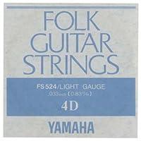 YAMAHA/ヤマハ FS-524×6 フォーク弦/ライト/4弦×6(FS524)