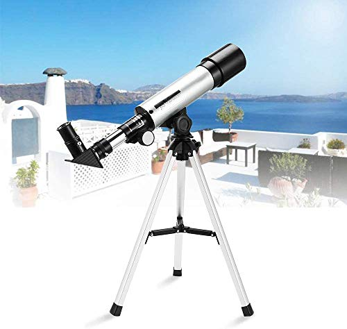 Telescope for Kids, Telescopes for Astronomy Beginners Capable of 90x Magnification, Includes Two Eyepieces, Tabletop Tripod, Finder Scope,Ideal Birthday Space Gift