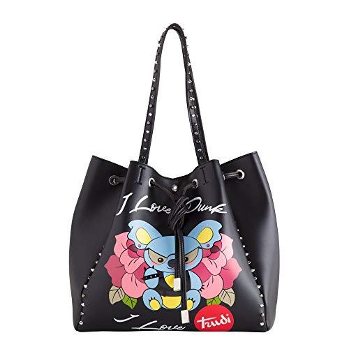 Carpisa - Bolso para mujer, color lila, Negro  (Negro) - BS724401S1900101