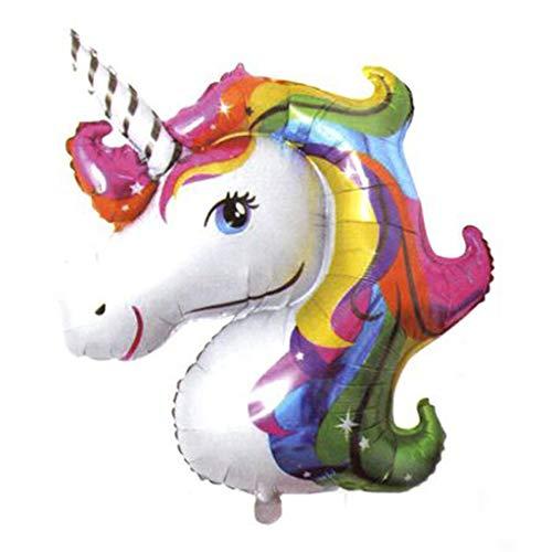 Palloncino Unicorno Gigante Gonfiabile Decorazioni Festa Compleanno Bambina