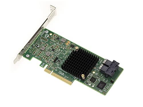 Kalea Informatique - Tarjeta controladora PCIe 3.0 SAS + SATA de 12 GB, 8 puertos internos, Raid 0 1 1E 10, OEM SAS 3008, High y Low Profile
