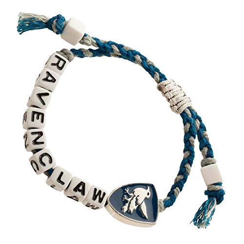 Harry Potter Armband Cube Bead Ravenclaw Schmuck blau grau
