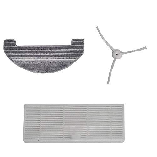 Set di accessori (spazzola laterale + filtro Hepa + panno mop) -...