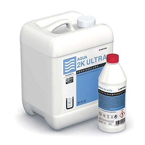 RETOL AQUA 2K Ultra wasserbasierte Versiegelung für Parkett, halbmatt (4,95 l)