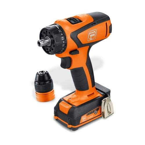 Fein 71161061090, ASCM 12 C 4-Speed Cordless Drill/Driver (Pack of 2 pcs)