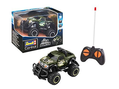 Revell Control Junio-RC SUV Field Hunter Coche de Control Remoto, Color Verde (23491)