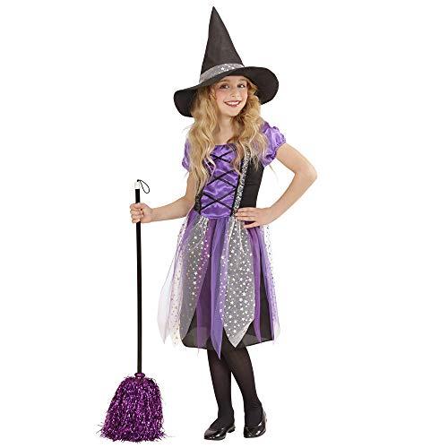 WIDMANN Strega Vestito Cappello Costumi Completo Bambino Party E Carnevale Gioca 398, Multicolore, (158 cm / 11-13 Anni), 8003558001880