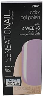 Sensationail Color Gel Nail Polish Lacquer Heirloom Lilac Lacquer Manicure 7.39ml