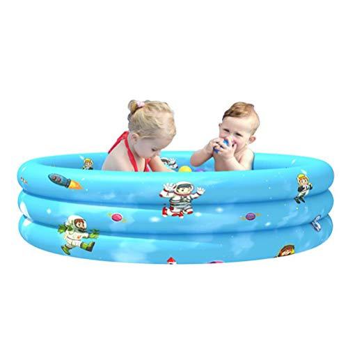 LBWNB Ring-Pool Planschbecken Pool Planschbecken Summer Für Kinder Ab 3 Jahren, Jugendliche Und Erwachsene, Für Garten Und Outdoor,90cm Universe