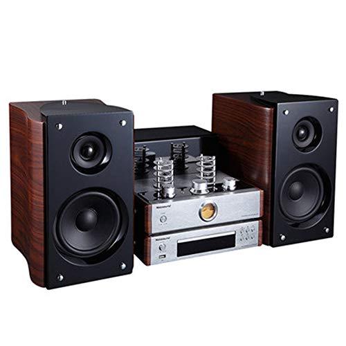 HM2 Bluetooth Power Amplifier Combined-Lautsprecher, Stereo Electron Röhrenverstärker, mit CD DVD-Player, für Heimkino-Lautsprecher-Systems-Vorrichtung