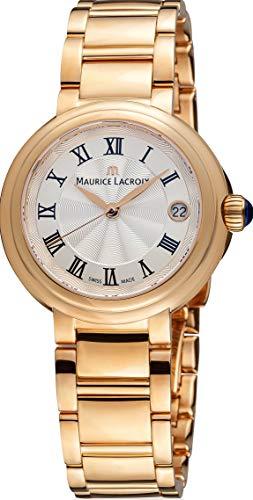 Maurice Lacroix Fiaba Round FA1007-PVP06-110-1 Damenarmbanduhr Sehr Elegant