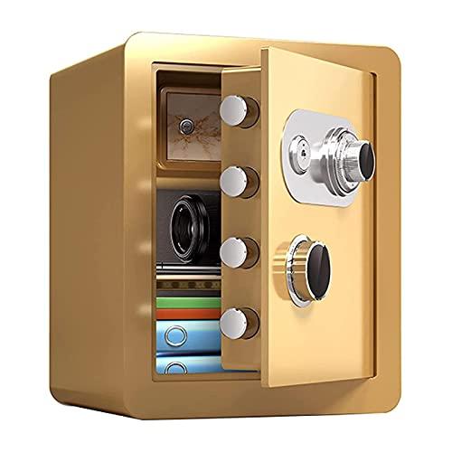 Massage-AED Caja De Seguridad Camuflada,Caja De Cerradura Segura Caja De Seguridad Mecánica a Prueba De Fuego Bolsa Segura De Documentos a Prueba De Agua