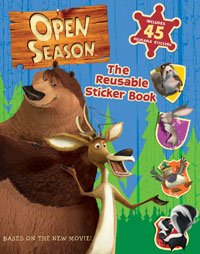 Open Season: Reusable Sticker Book