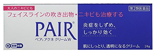 【第2類医薬品】ペアアクネクリームW 24g ×2 ※セルフメディケーション税制対象商品