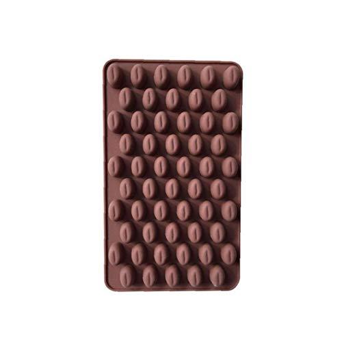 JBNS Kaffee Korn Shaped EIS/Kuchen/Brot/Backformen Schimmelpilze Silikon Non-Stick Kuchen Gelegentliche Farbe