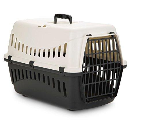 Transportbox Transportkäfig Tragebox für kleine Hunde und große Katzen 58x58x38cm