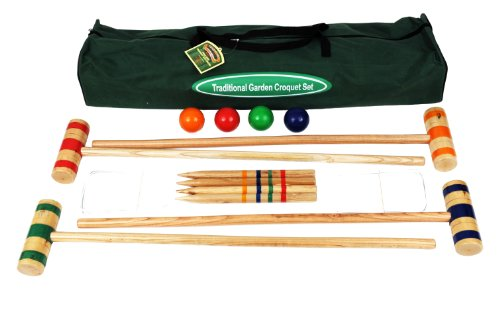 Traditional Garden Games - Set de croquet 96 cm