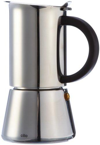 Cilio Espressokocher Rigoletto 6 Tassen, Edelstahl, Induktion geeignet