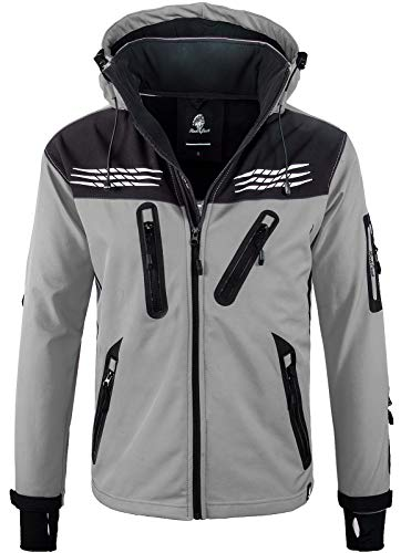 Rock Creek Heren Softshell Jacket Outdoor regenjas H-127