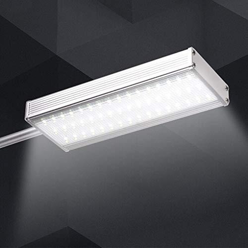 Wandlampen voor buiten, op zonne-energie, buitenverlichting, op zonne-energie, waterdicht, 9,1 x 3,93 in E27, 110 V – 240 V, aluminium, in lengte verstelbaar.