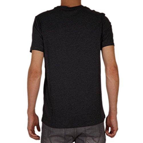 Champion Hombre - Camiseta Classic Logo - Gris, S
