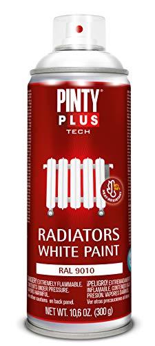 Pintyplus tech - Pintura en Spray para Radiadores520cc, Blanco