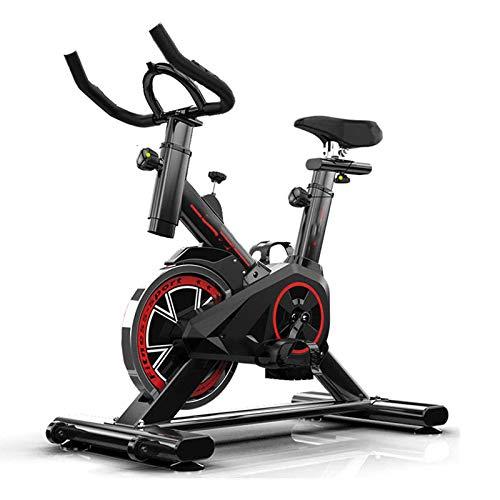 WJFXJQ Bicicleta de Ejercicio Multifuncional Sólido y Estable, con Pantalla LCD fácil de Mover un asa Antideslizante cómoda
