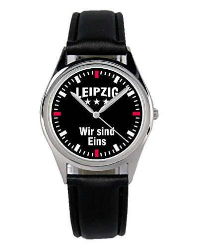 Leipzig Geschenk Artikel Idee Fan Uhr B-2388
