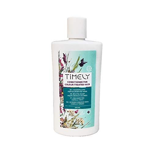 Timely - Acondicionador protector del color para cabellos teñidos, 300 ml