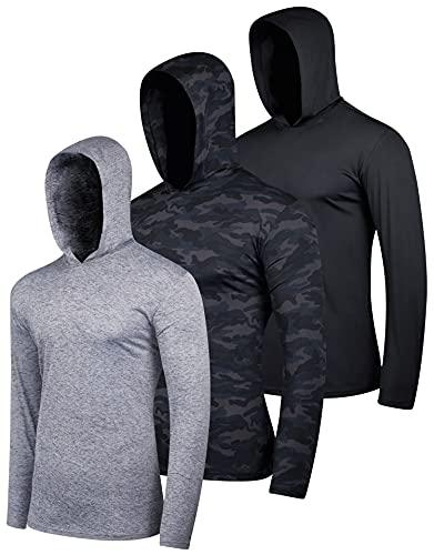 3 Pack: Men's Quick Dry Fit Moist…
