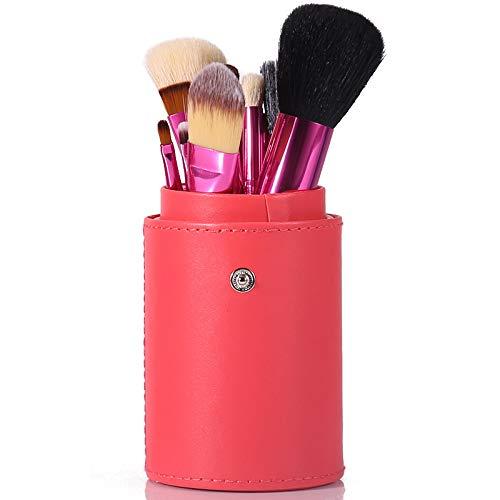 Pinceau De Maquillage Professionnel Set 12 Tube Brosse Débutant Ensemble Complet De Maquillage Maquillage Brosse Baril Brosse Outil Combinaison Orange