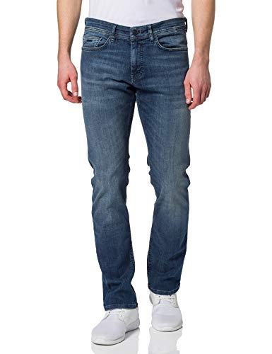 BOSS Mens Delaware BC-L-P 10233485 01 Jeans, Medium Blue420, 3232