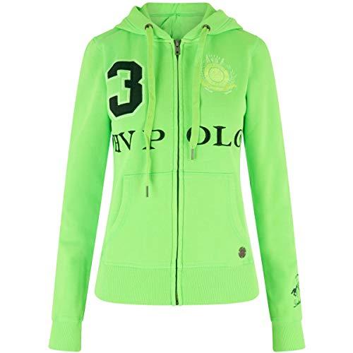 HV Polo Damen Sweatjacke FAVOURITAS LTE LS NEON neon Green L