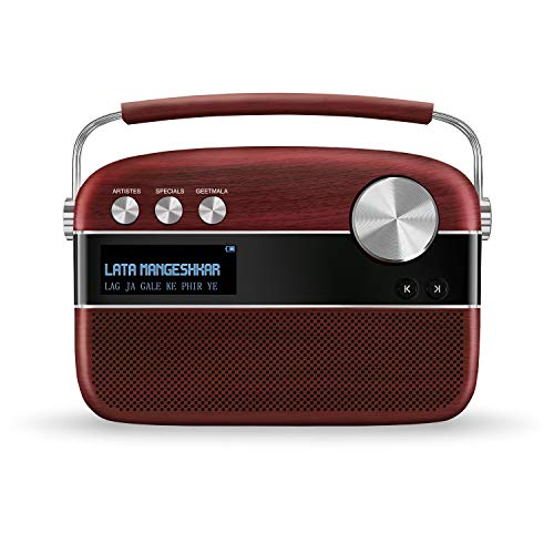 Carvaan Saregama Premium- Portable Music Player with 5000 Preloaded Songs,...